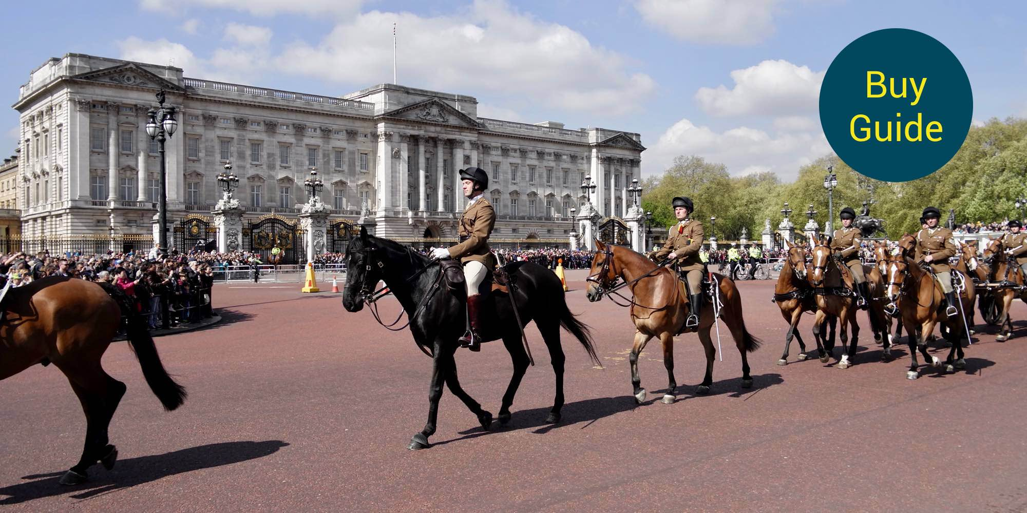 What is the route for Changing of the Guard in London